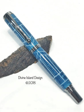 George Fountain / Black Titanium - Custom / Blue Steel 3D Madness