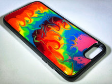 "Load image into Gallery viewer, iPhone 7/8 Plus Phone Case - ""Tie Dye"" Resin"