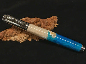 Zen Rollerball / Chrome - Custom Seashore w/COA