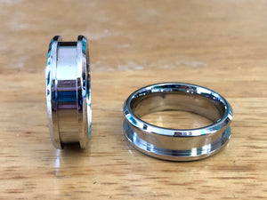 Stainless Steel Ring Core - Inlay