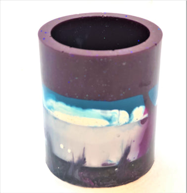 Small Purple and Blue Trinket Holder