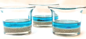 Votive Holders - Beach Scene with Sand
