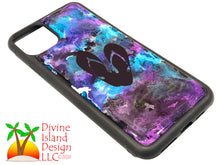 Load image into Gallery viewer, iPhone 11 Pro Max Phone Case - Purple and Blue Resin w/Flip Flops