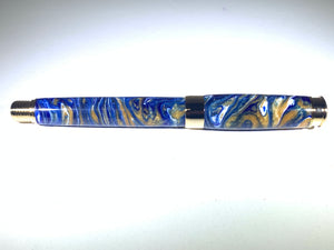 Leveche Rollerball / Gold - Resin / Georgia Tech