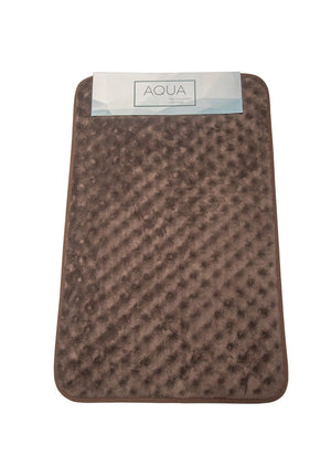 Home 360 Brown Memory Foam Aqua Bath Mat {23 x 16 inches}