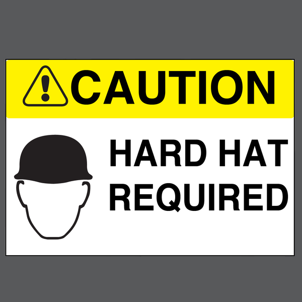 Hard Hat Required - Graphical Warehouse