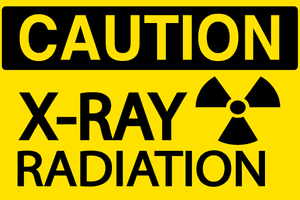 X-ray Radiation sign - Graphical Warehouse
