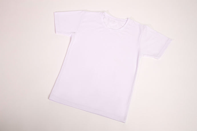 Short Sleeve Round-Neck PE T-Shirt
