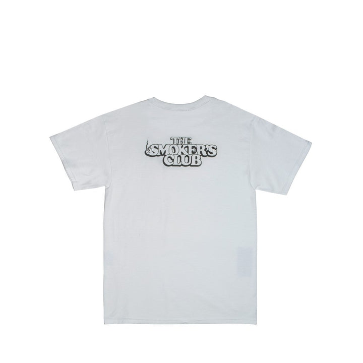 WHITE BUBBLE LOGO T-SHIRT