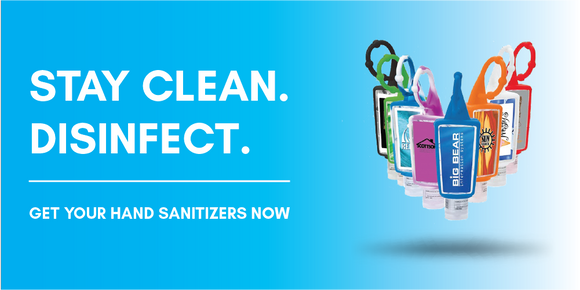 Hand sanitizers that disinfects