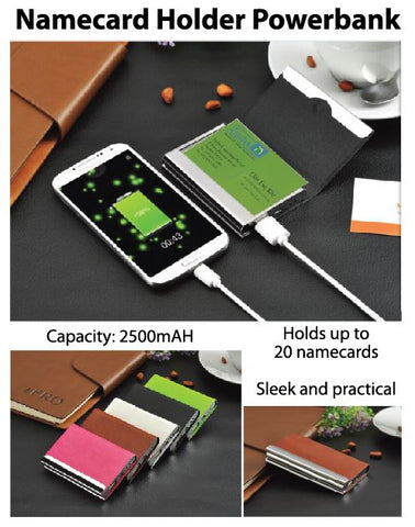 Namecard Holder Powerbank