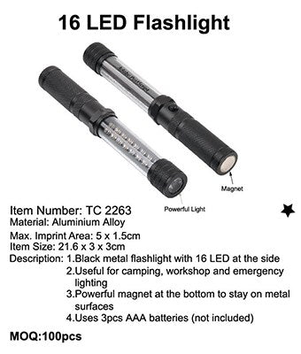 16 LED Flashlight - Tredan Connections