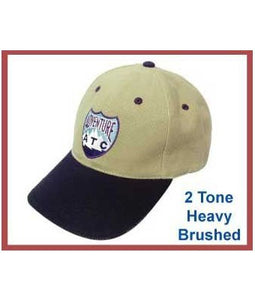 2 Tone Heavy Brushed Cap - Tredan Connections