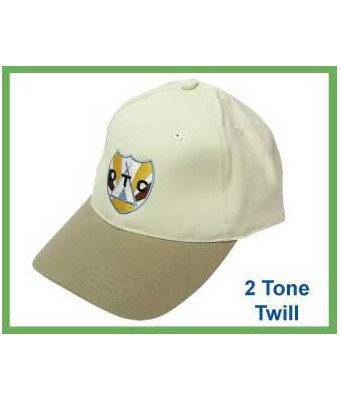 2 Tone Twill Cap - Tredan Connections