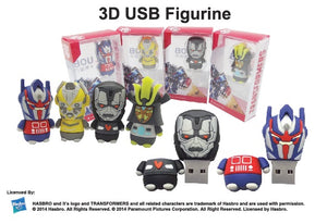 3D USB Figurine - Tredan Connections
