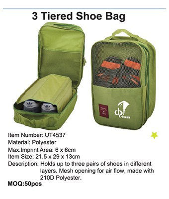 3 Tiered Shoe Bag - Tredan Connections