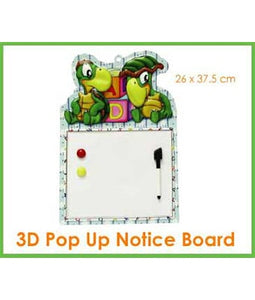3D Pop Up Notice Board - Tredan Connections