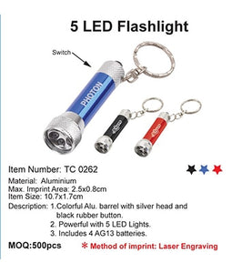 5 LED Flashlight - Tredan Connections