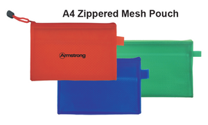 A4 Zippered Mesh Pouch - Tredan Connections