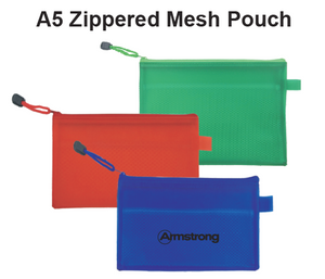A5 Zippered Mesh Pouch - Tredan Connections