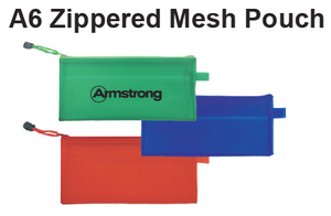 A6 Zippered Mesh Pouch - Tredan Connections