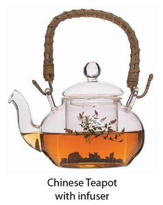 Chinese Teapot with influser - Tredan Connections