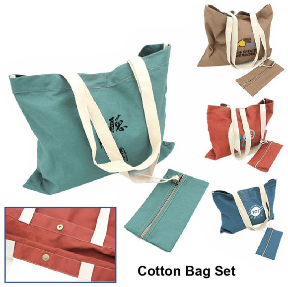Cotton Bag Set - Tredan Connections
