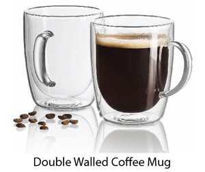 Doubled Walled Coffee Mug - Tredan Connections