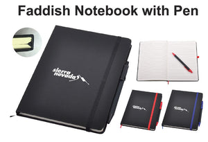 Faddish Notebook with Pen - Tredan Connections