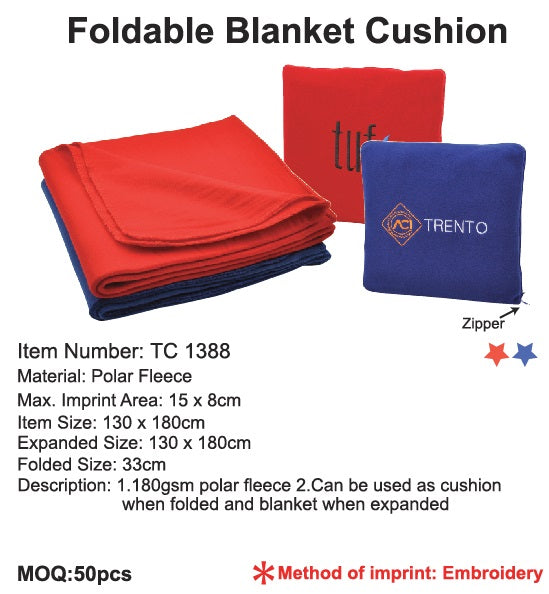 Foldable Blanket Cushion - Tredan Connections