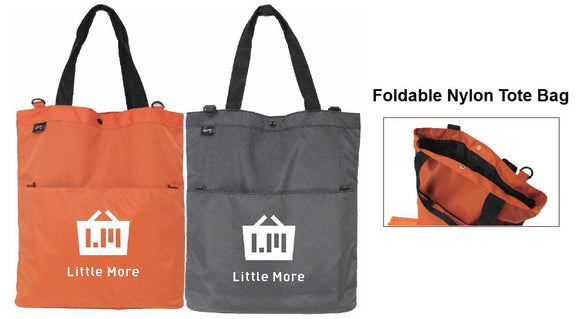 Foldable Nylon Tote Bag - Tredan Connections