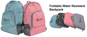 Foldable Water Resistant Backpack - Tredan Connections