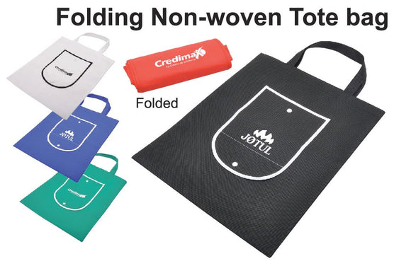 Folding Non-woven Tote Bag - Tredan Connections