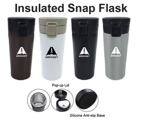 Insulated Snap Flask - Tredan Connections
