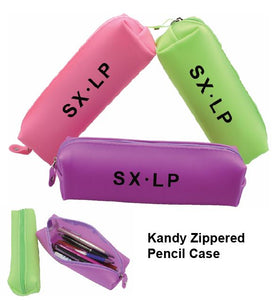 Kandy Zippered Pencil Case - Tredan Connections