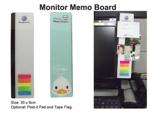 Monitor Memo Board - Tredan Connections