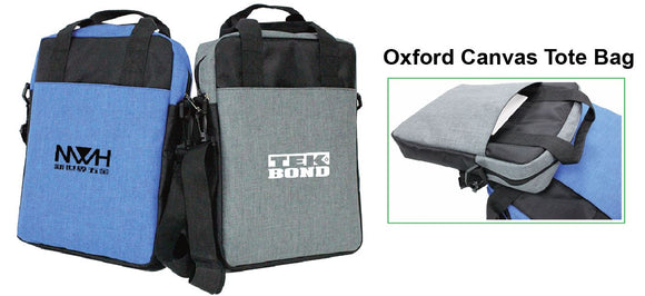 Oxford Canvas Tote Bag - Tredan Connections