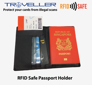 RFID Safe Passport Holder - Tredan Connections