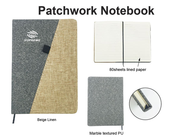 Patchwork Notebook - Tredan Connections