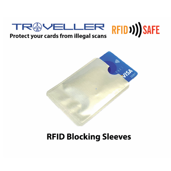 RFID Blocking Sleeves - Tredan Connections