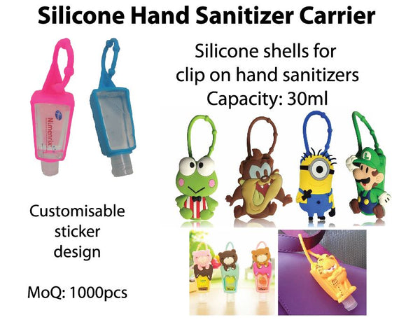 Silicone Hand Sanitizer Carrier - Tredan Connections