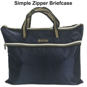 Simple Zipper Briefcase - Tredan Connections