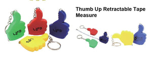 Thumb Up Retractable Tape Measure - Tredan Connections