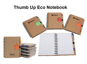 Thumb Up Eco Notebook - Tredan Connections