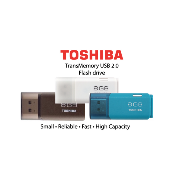 Toshiba TransMemory USB 2.0 Flash drive - Tredan Connections