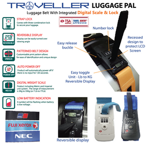 Traveller Luggage Pal - Tredan Connections