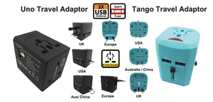 Uno and Tango Travel Adapter - Tredan Connections