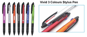 Vivid 3 Colors Stylus Pen - Tredan Connections