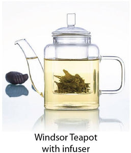 Windsor Teapot with infuser - Tredan Connections