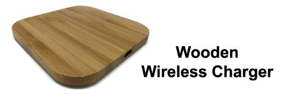 Wooden Wireless Charger - Tredan Connections